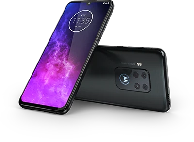 motorola one zoom front and back View