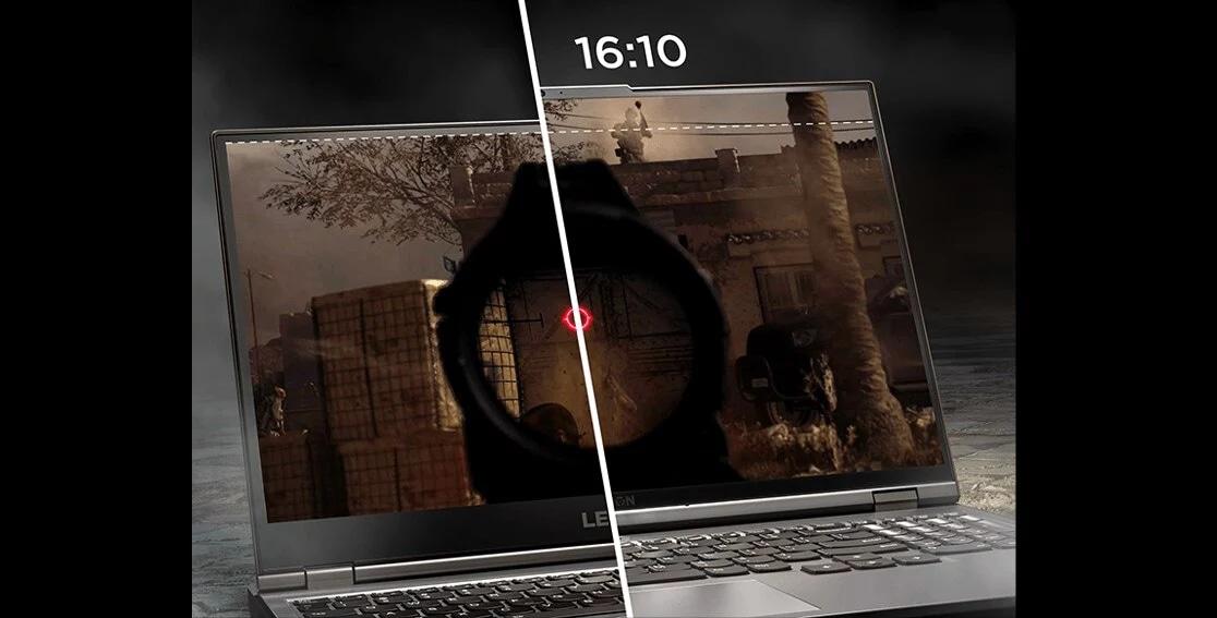 """Lenovo Legion 5 Pro (16"""" AMD), right profile view"""